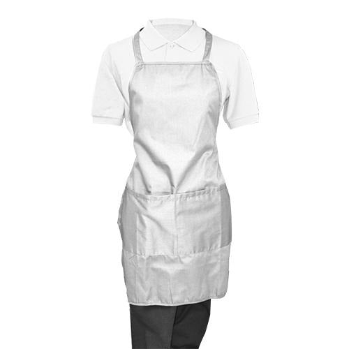 White Whole Apron - Eco Prima Home and Commercial Kitchen Supply