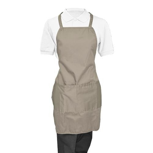 Gray Whole Apron - Eco Prima Home and Commercial Kitchen Supply