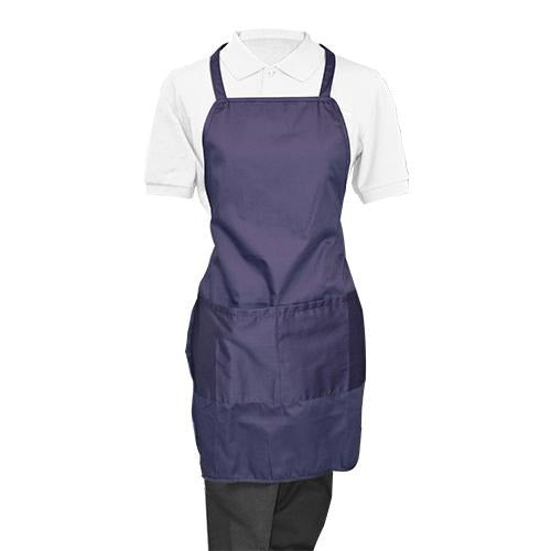 Blue Whole Apron - Eco Prima Home and Commercial Kitchen Supply