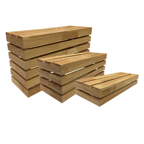 Wooden Crate Risers