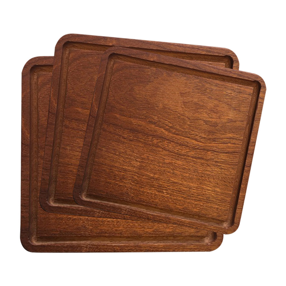 Square Wooden Serving Board