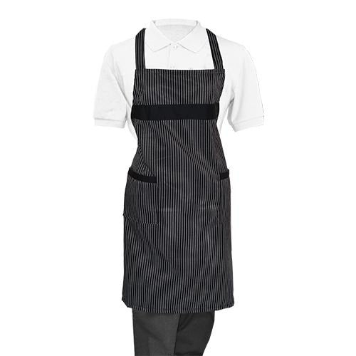 Striped Whole Apron - Eco Prima Home and Commercial Kitchen Supply