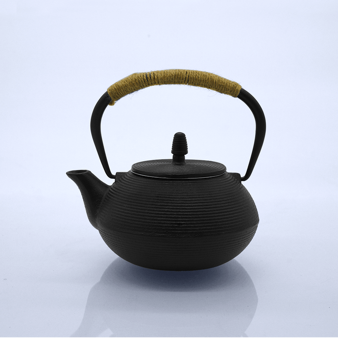 Round Cast Iron Teapot - Eco Prima Home and Commercial Kitchen Supply