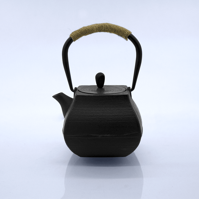 Square Cast Iron Teapot - Eco Prima Home and Commercial Kitchen Supply
