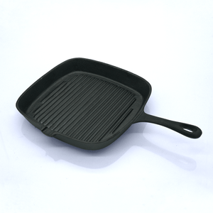"14"" Square Cast Iron Grill - Eco Prima Home and Commercial Kitchen Supply"