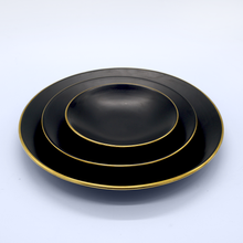 "Load image into Gallery viewer, 8"" Matte Black Plate"