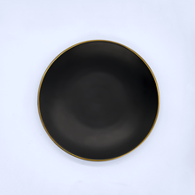 "Load image into Gallery viewer, 6"" Matte Black Plate"