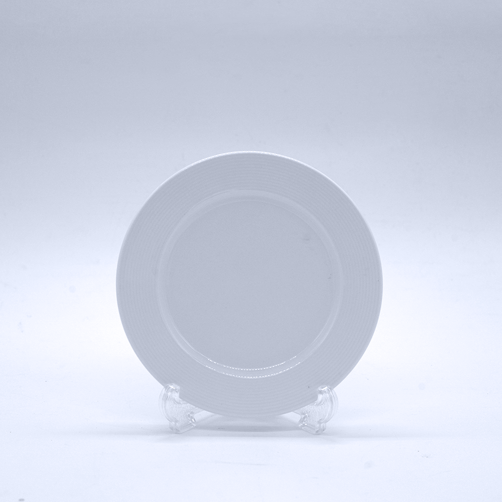 Sophia White Plate - Eco Prima Home and Commercial Kitchen Supply