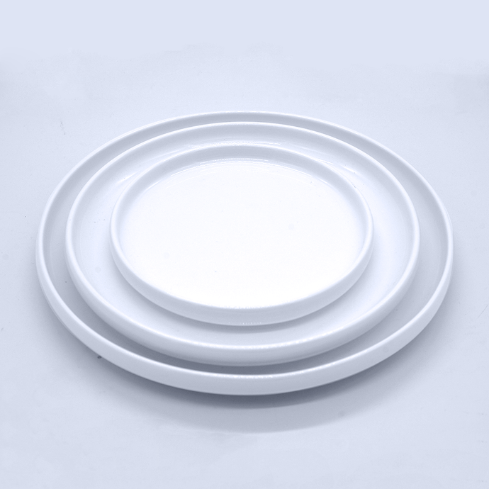 Molly Salad Plates - Eco Prima Home and Commercial Kitchen Supply
