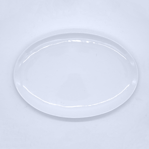 Oval Rimless Plate - Eco Prima Home and Commercial Kitchen Supply