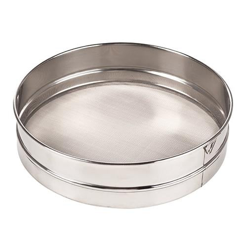 30 Mesh Stainless Steel Rim Sieve - Eco Prima Home and Commercial Kitchen Supply