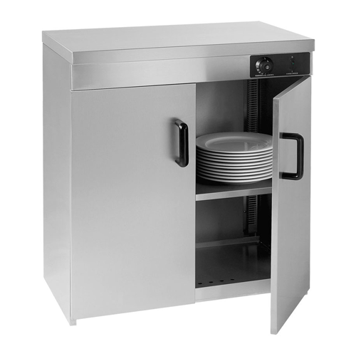 2-Door Plate Warmer Cabinet - Eco Prima Home and Commercial Kitchen Supply