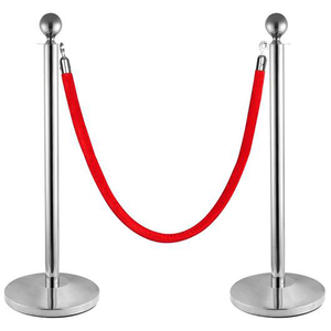 Stainless Steel Classic Stanchion Stand