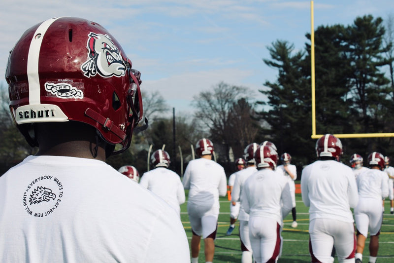 Game day! Lower Merion HS Football teams up with Few Will Hunt