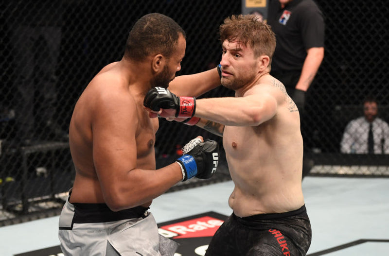 Knockout! Few Will Hunt Ambassador Chris Daukaus steamrolls Nascimento at UFC Fight Island 5