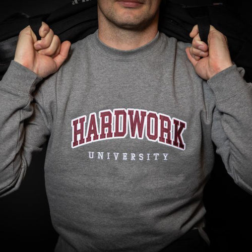 Hardwork University Crewneck Sweatshirt