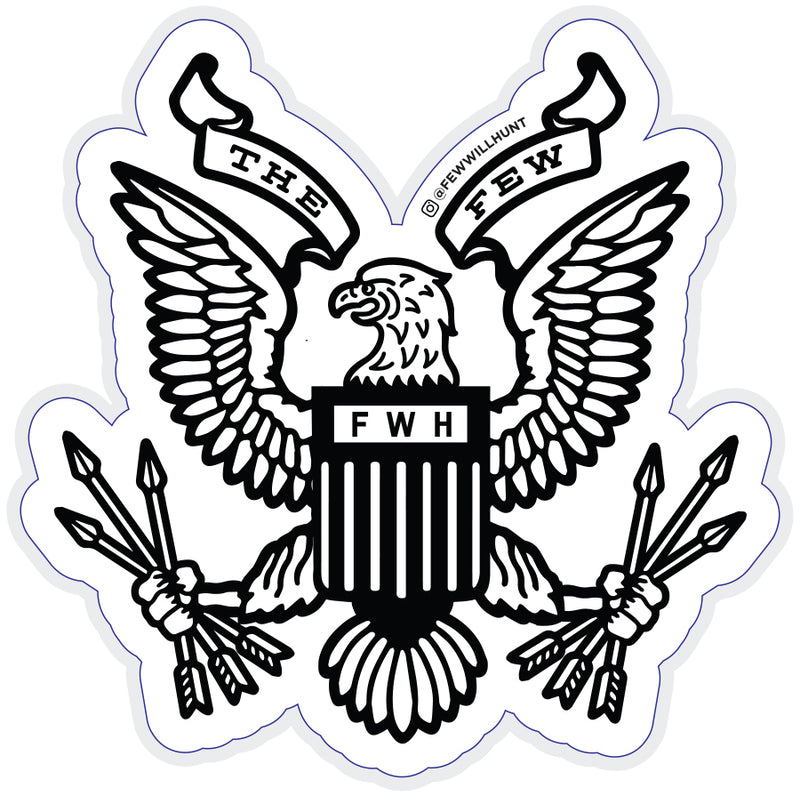 Restoration Eagle Sticker