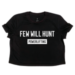 FWH Powerlifting Crop Tee