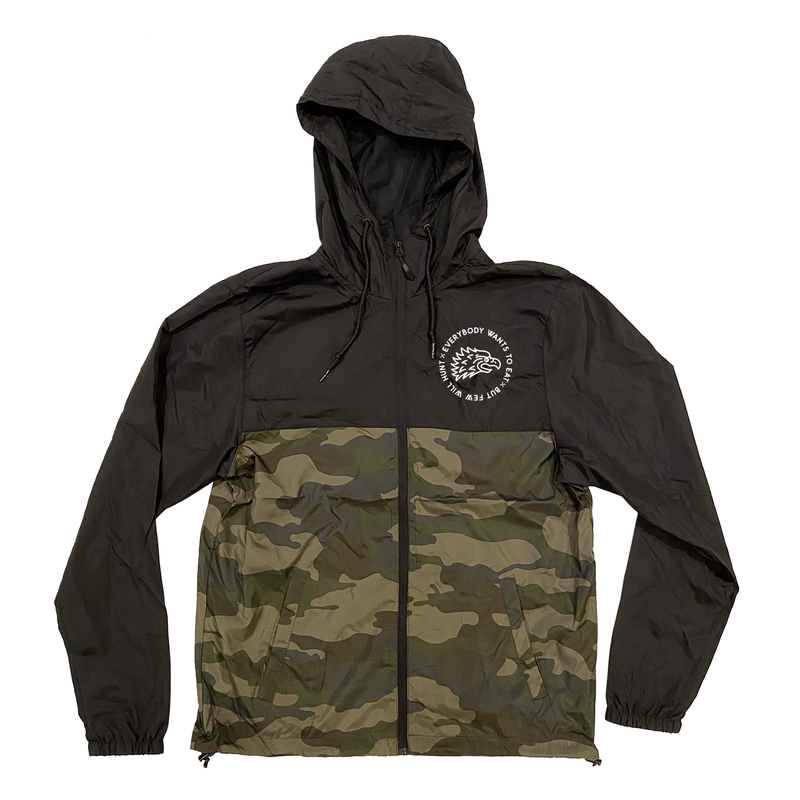 Forest Camo Windbreaker