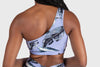 Aura 7 Activewear Tropic Hermosa Top close up back view