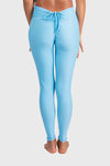 Aura 7 Activewear Fresh Air Capella legging yoga pants close up back