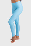 Aura 7 Activewear Fresh Air Capella legging yoga pants close up side profile