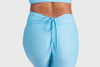 Aura 7 Activewear Fresh Air Capella legging yoga pants close up tie back view