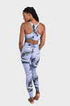 Aura 7 Activewear Tropic Capella legging yoga pants back