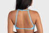 Aura 7 Activewear Fresh Air Del Mar Top close up back view