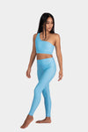 Aura 7 Activewear Fresh Air Vita Legging Yoga Pants front pose