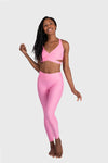 Aura 7 Activewear Flower Capella Legging front