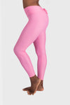 Aura 7 Activewear Flower Capella Legging side profile