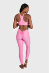 Aura 7 Activewear Flower Capella Legging back