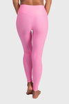 Aura 7 Activewear Flower Vita Legging yoga pants close up back view