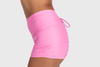 Aura 7 Activewear Flower Rigel short close up side profile