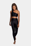 Aura7 Activewear Vita legging yoga pants front profile