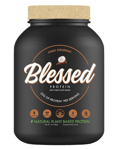 Clear Vegan Blessed Protein
