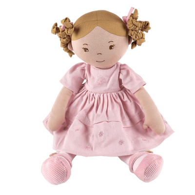 Linen soft doll toy UK - Bonikka Charlotte