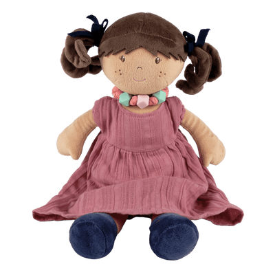 Soft doll toy with friendship bracelet UK