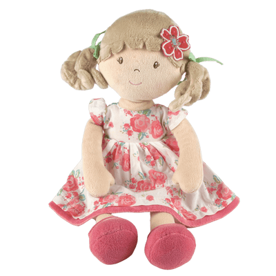 Floral soft doll toy UK