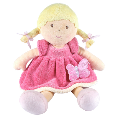 Ria butterfly pink soft doll UK