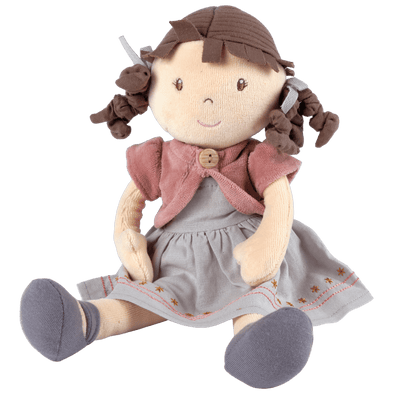Organic soft cloth doll UK shop - Emma