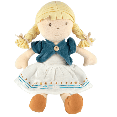 Organic soft cloth doll UK shop