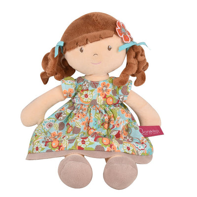 Summer flower kids soft doll toy UK