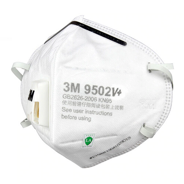 3M 9502V P2 N95 KN95 Disposable Respirator Mask