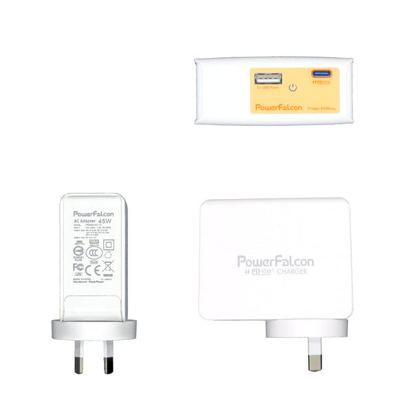 PowerFalcon Dual USB International Travel Charger