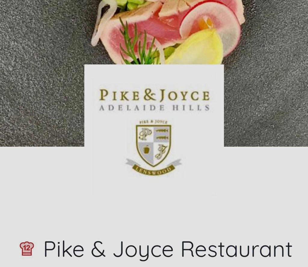 Pike & Joyce Restaurant Awarded AGFG Chef's Hat!!