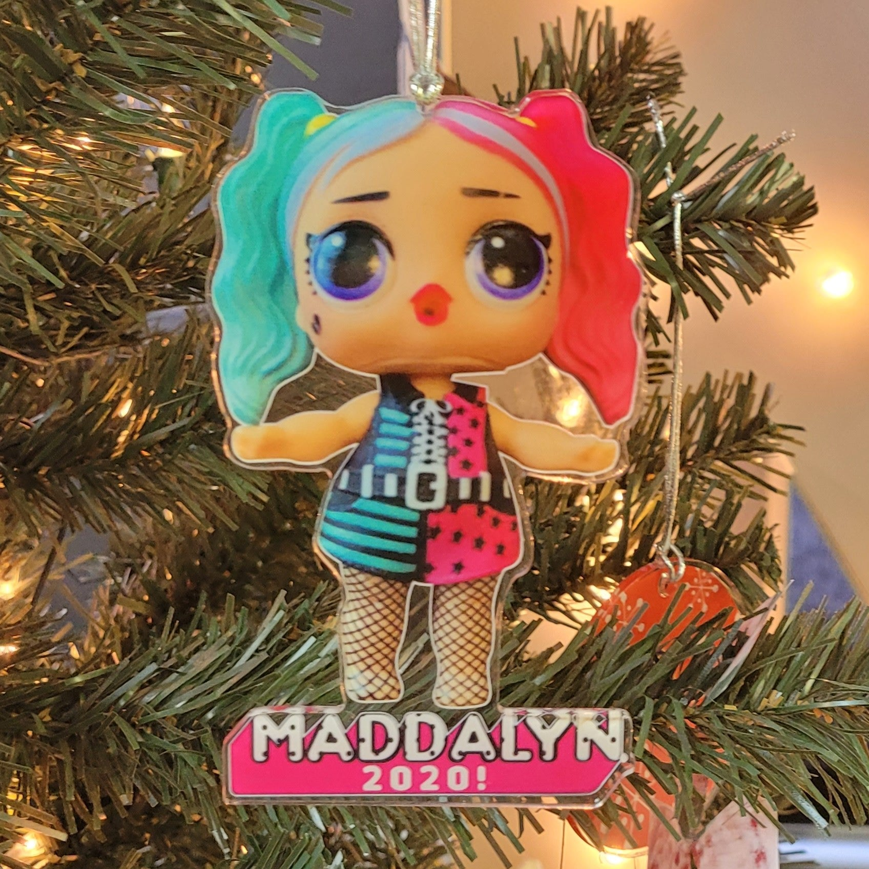 LOL Doll Ornament