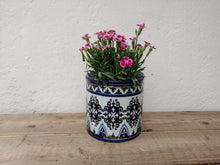 Load image into Gallery viewer, Distressed Blue Plant Pots