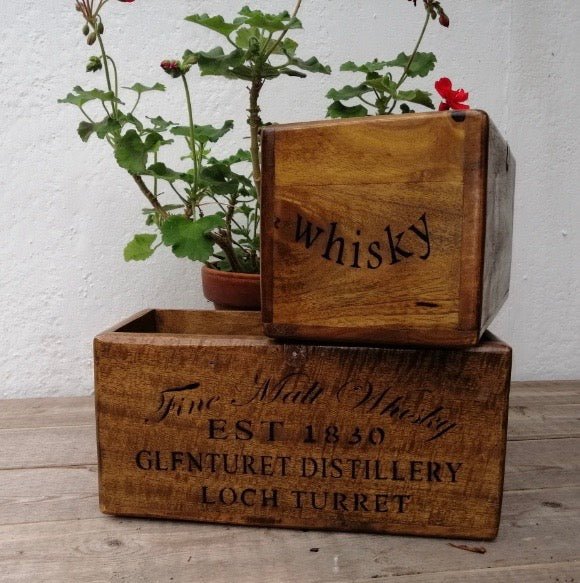 Fine Whiskey Box